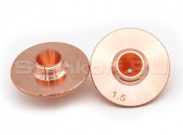 Оригинальное одинарное сопло 1 мм Worthing WSX CT-D-10 для оптоволоконного лазера