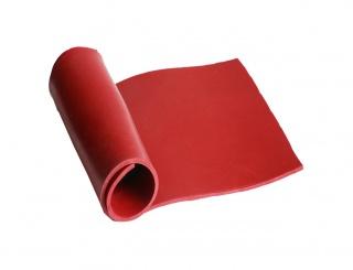 Силиконовая резина KSIL FK 40 RIO (красная) 0,5мм х 1600мм