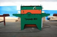 Станок одновальный дисковый многопильный Триумф-300