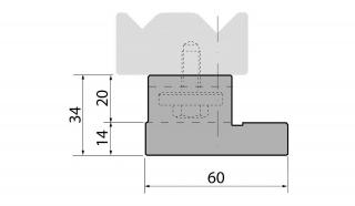 Держатели двухручьевые классические серии SU034