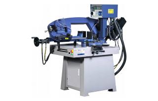 Полуавтоматические ленточнопильные станки для резки металла MetalTec серии BS SA