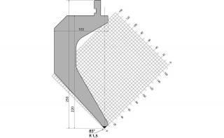 Пуансоны R1 серии P.250.85.R15