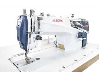 Прямострочные машины с прямым приводом и автоматической обрезкой нити серии Aurora S