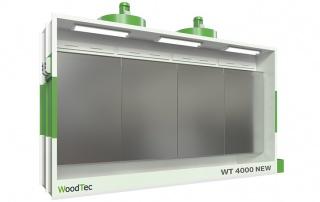 Окрасочные камеры WoodTec серии WT