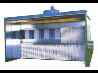 Покрасочные кабины сухого способа фильтрации серии ОКС