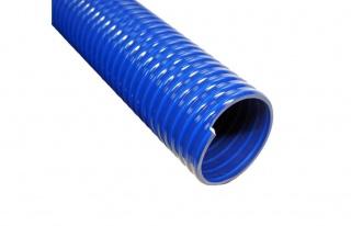 Напорно-всасывающие шланги из ПВХ синие морозостойкие серии КРФ