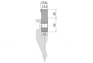 Адаптеры пуансона болтовые серии AWC13.5