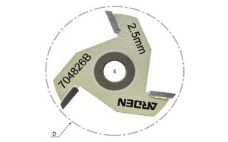 Сменные режущие пазовые диски для фрез серии 704