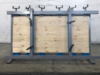 Механические столярные ваймы для склейки щита серии ВМ