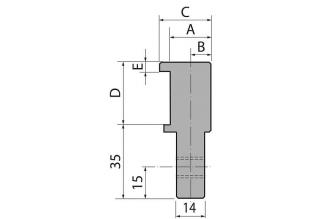 Адаптеры пуансона болтовые серии INT35