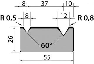 Матрицы R1 серии M26.60.02
