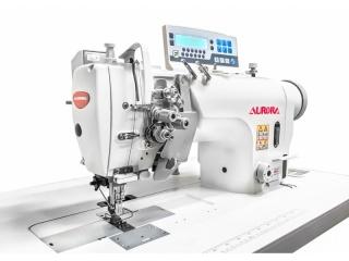 Двухигольные промышленные швейные машины с прямым приводом AURORA A-8452