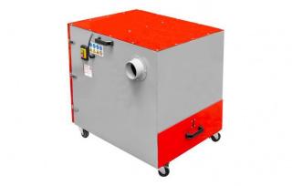 Установки аспирационные для металлической стружки серии MABS1500