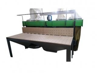 Шлифовальные столы с вытяжной установкой серии S