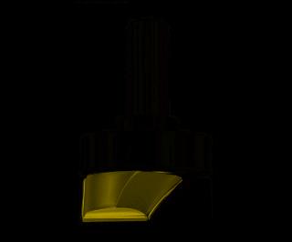 Фрезы для выравнивания дна с верхним подшипником ARDEN серии 214 B