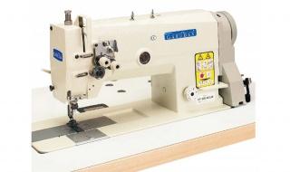 Промышленные двухигольные швейные машины челночного стежка серии Garudan GF-207