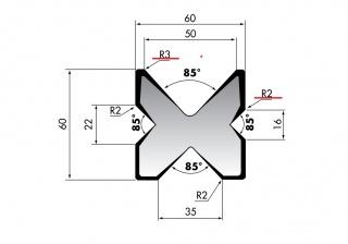 Четырехсторонние матрицы серии M460.R