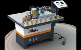 Станки для облицовывания кромок мебельных щитов Filato серии FL