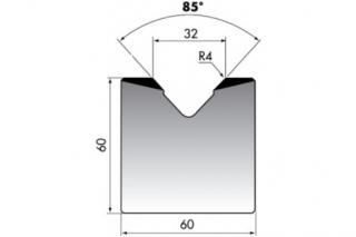 Матрицы с одним раскрытием серии M60.85.32