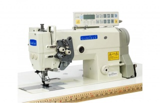 Промышленные двухигольные швейные машины челночного стежка серии Garudan GF-210