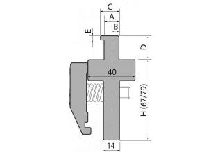 Адаптеры пуансона серии INT67-79