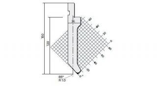 Пуансоны R1 классические серии P.150.85.R1