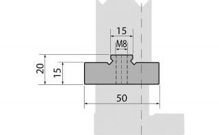 Держатели быстросъемных двухручьевых матриц серии PM50.20