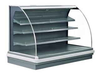Полувертикальные витрины LENA SV под выносное холодоснабжение