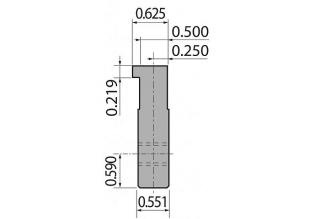 Адаптеры пуансона болтовые серии INT35-A