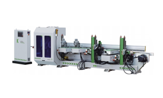 Автоматические станки для формирования и шлифования профильных кромок мебельных фасадов серии MSE SIDE