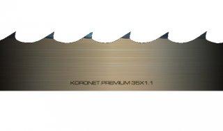 Ленточные пилы для бревнопильных станков серии KORONET PREMIUM