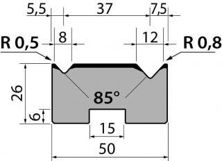 Матрицы R1 серии M26.85.02