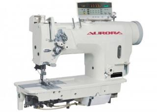 Двухигольные промышленные швейные машины с прямым приводом AURORA A-8722