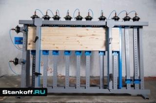 Пневматические ваймы для рамных конструкций и склейки столярных щитов серии ВП15