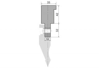 Адаптеры пуансона болтовые серии AW1-D