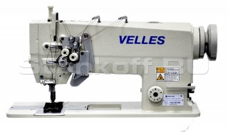 Прямострочные двухигольные промышленные швейные машины серии VLD 2875