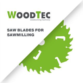 Дисковые пилы с твердосплавными напайками WoodTec