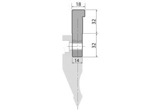 Адаптеры пуансона болтовые серии AW1-B