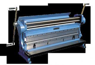 Механические станки 3в1 (гильотина, вальцы, листогиб) серии GBR-Manual