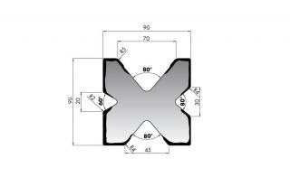 Гибочные матрицы серии M490.70